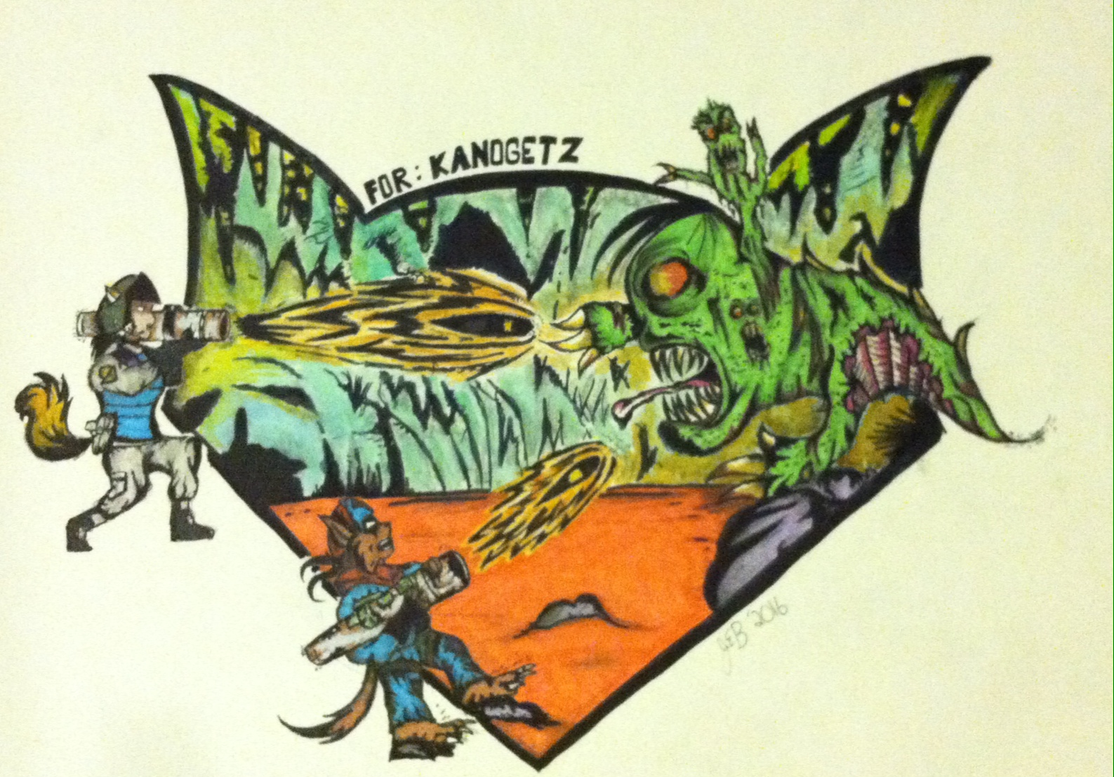 Artwork by austinswatkat87 for Kanogetz